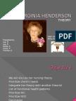 Virginia Henderson Theory[1]