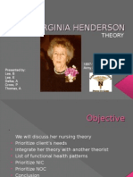 Virginia Henderson Theory[1]