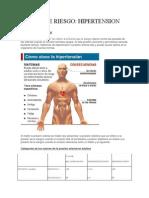 Factor de Riesgo Hinpertension
