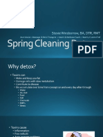 spring cleaning detox