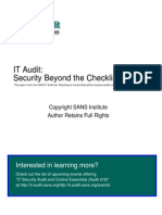 Auditing Cisco 1721 Router