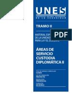 Material Areas de Servicio Custodia Diplomatica II Dig