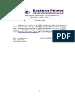 Jr.asst -2014 E- Notification Dt. 28.02