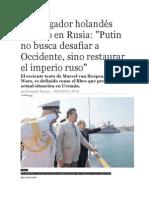 Putin y La Restauracion Del Imperio Ruso