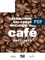 CENSO NACIONAL DEL CAFÉ 2011-2012