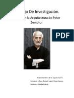 Trabajo de investigación Peter Zumthor (1)