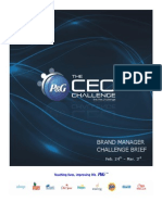 CEO Challenge Phase 1 Brand Manager Challenge