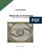 Notas de un Astrólogo - Juan Estadella