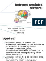 SindromeOrganicoCerebral