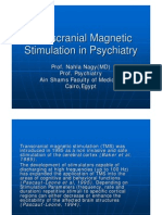 Transcranial Magnetic Stimulation in Psychiatry