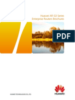 Huawei AR Enterprise Routers Brief Product Brochure