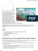 Balanço hídrico – Wikipédia, a enciclopédia livre