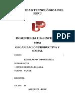 organizacion productiva