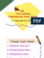 Audit MEDIK Compatibility Mode