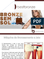 Best Bronze Kit Profissional - Maquina de Bronzeamento - 10 Aplicações