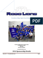 PRHS Robotics Sponsor Packet