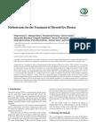 Methotrexate for the Treatment of Thyroid Eye Disease