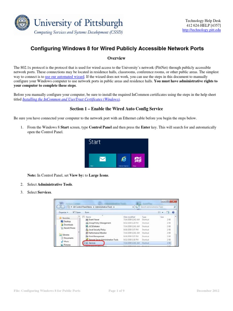 Configuring windows 8 public ports authentication computer network 1betcityfo Choice Image