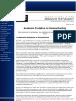 Home School Statistics