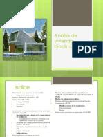 Análisis de vivienda bioclimática- final