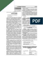 Decreto Supremo Nº 015-2012-VIVIENDA