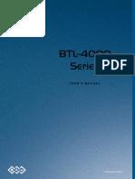 BTL 4000 - User Manual