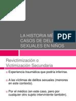Interrogatorio Medico a Las Victimas de Delito Sexual