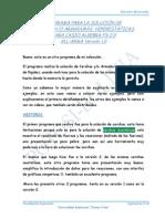 Prog.para Armaduras y Cerchas 9860g