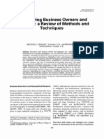 Geoforum Volume 24 Issue 3 1993 Michael J. Healey; Michael B. Rawlinson -- Interviewing Business Owners and Managers- A Review of Methods and Techniques