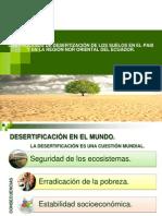 Esertificacion, Ecuador