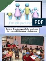 Escuela de Padres Sobre La Responsabilidad
