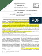 Mejora Simulacion Teoria Catastrofe Espuma KAM 2007