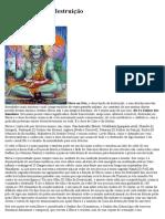 Shiva, o Deus da destruição