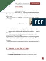 ''Neodarwinismo'' ''La evolución en acción''...