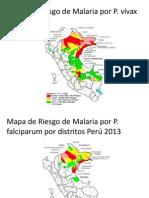 Mapa,Situaciony Control de Malaria