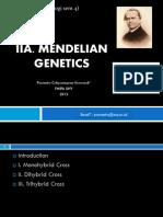 2. Genetika Mendel