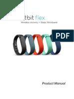Fitbit Flex Product Manual - English