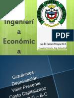 Ingeniería Económica (Gradientes, Depreciación...)  cuarta semana