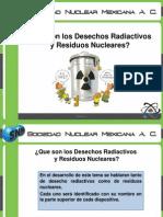 Desechos Radiactivos e Industriales