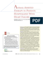4. Animal Assited Therapy in Patients Hospitalized With Heart Failure