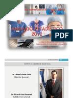 Anuario Estadístico 2012 (2)