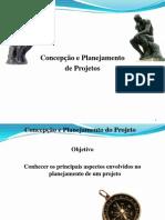 Aula 8 - Concepção e Planejamento de Projetos