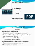 Aula 5 - A Energia Vital de Um Projeto