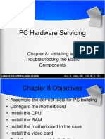 C8 Installing and Troubleshooting the Basic Components