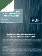 APLICACIONES DE LA VOLUMETRÍA DE PRECIPITACIÓN final