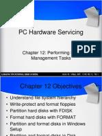C12 Performing Disk Management Tasks