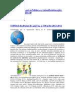 El PIB de los Países de América y El Caribe 2013
