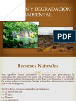 Recursos y Degradacion Ambiental