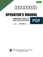 Felcom 70 Operator's Manual d2