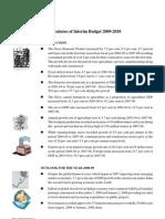Interim Budget 2009-2010